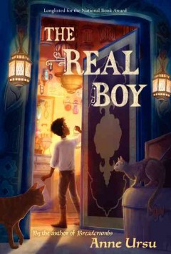 The Real Boy by Anne Ursu book cover.