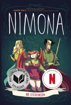 """""""Nimona"""" by Noelle Stevenson book cover"""