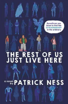 """Cover of """"The Rest of Us Just Live Here"""""""