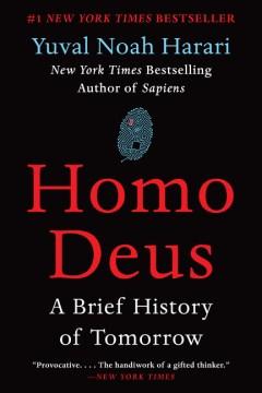Cover art of Homo Deus by Yuval Noah Harari