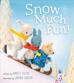 Snow-much-fun!-/-by-Nancy-Siscoe-;-illustrated-by-Sabina-Gibson.
