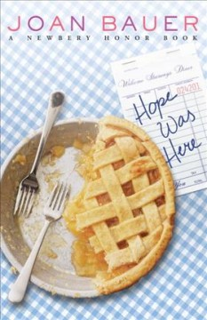 """""""Hope was Here"""" by Joan Bauer book cover"""