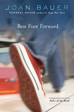 Best Foot Forward by Joan Bauer book cover.