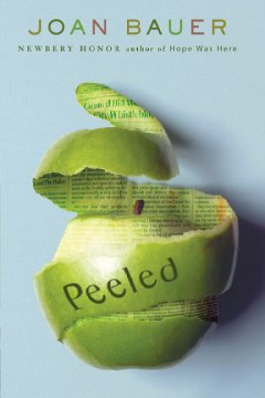 Peeled by Joan Bauer book cover