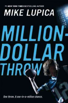 Million Dollar Throw by Mike Lupica book cover
