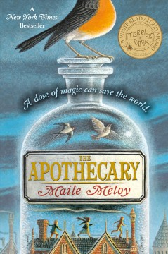 The Apothecary by Maile Meloy book cover.