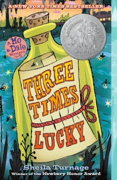 """Cover of """"Three Times Lucky"""""""
