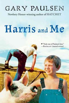 Harris and Me: A Summer Remembered by Gary Paulsen book cover.