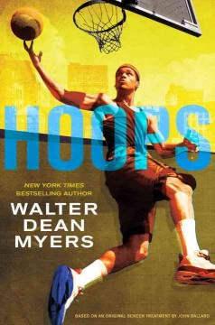 Hoops by Walter Dean Myers book cover
