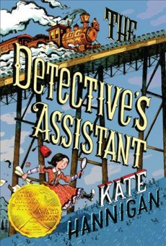 The Detective's Assistant by Kate Hannigan book cover.