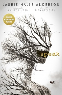 """""""Speak"""" by Laurie Halse Anderson book cover"""