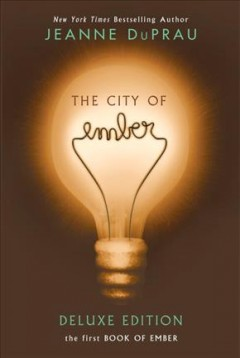 The City of Ember by Jeanne Duprau book cover.