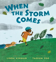 When-the-storm-comes-/-written-by-Linda-Ashman-;-illustrated-by-Taeeun-Yoo.
