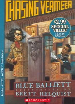 Chasing Vermeer by Blue Balliett book cover.