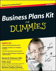 Business-plans-kit-for-dummies-/-by-Steven-D.-Peterson,-Peter-Jaret,-Barbara-Findlay-Schenck.