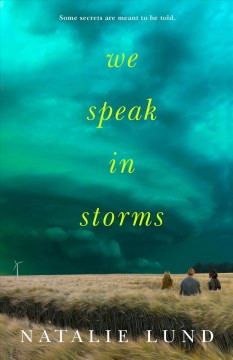 """Cover of """"We Speak to Storms"""""""