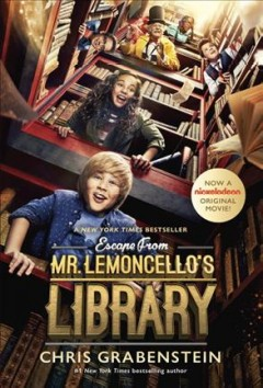 Escape from Mr. Lemoncello's Library by Chris Grabenstein book cover