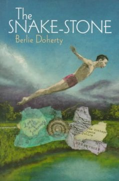 The Snake Stone by Berlie Doherty book cover.