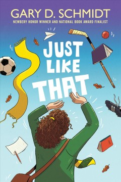 Just Like That by Gary D. Schmidt book cover