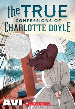The True Confessions of Charlotte Doyle by Avi book cover.