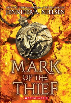 """Cover of """"Mark of the Thief"""""""