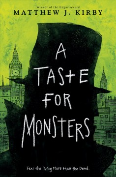 """Cover of """"A Taste for Monsters"""""""