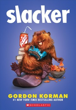 Slacker by Gordon Korman book cover