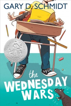 The Wednesday Wars by Gary Schmidt Book Cover