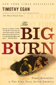 Cover art of The Big Burn by Timothy Egan