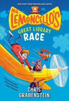 Mr. Lemoncello's great library race by Chris Grabenstein book cover