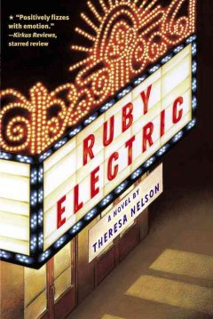 Ruby Electric by Theresa Nelson book cover.