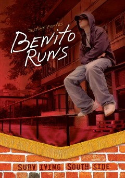 """Benito Runs"" by Justine Fontes book cover"