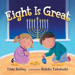 Eight-is-great-/-Tilda-Balsley-;-illustrated-by-Hideko-Takahashi.