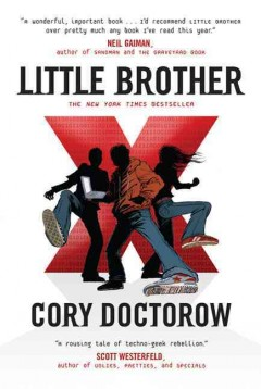 Little Brother by Cory Doctorow book cover