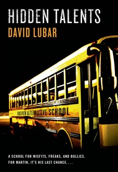 Hidden Talents by David Lubar book cover.