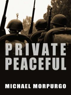 """Cover of """"Private Peaceful"""""""