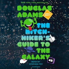 The-hitchhiker's-Guide-to-the-galaxy-[books-on-CD].-Douglas-Adams.