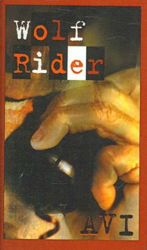Wolf Rider by Avi book cover.