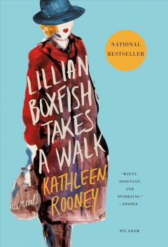 Cover Art of Lillian Boxfish Takes a Walk by Kathleen Rooney