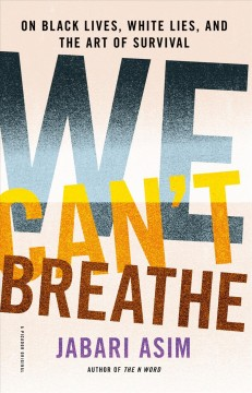 We Can't Breathe image cover