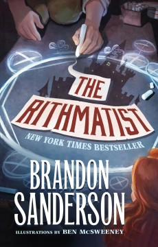 The Rithmatist by Brandon Sanderson book cover.