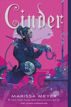 Cinder by Marissa Meyer book cover
