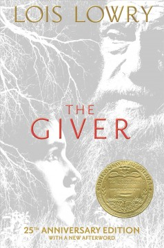 The Giver by Lois Lowry book cover.