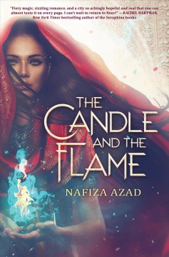 """Cover of """"The Candle and the Flame"""""""