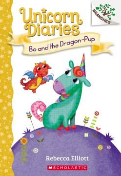 Bo-and-the-dragon-pup-/-Rebecca-Elliott.