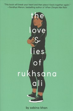 """Cover of """"The Love and Lies of Rukhsana Ali"""""""