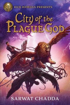 City of the Plague God by Sarwat Chadda book cover