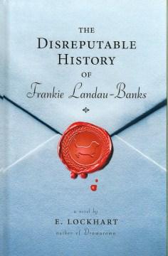 The Disreputable History of Frankie Landau-Banks by E. Lockhart book cover