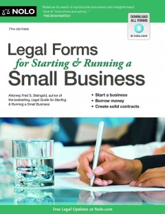 Legal-forms-for-starting-&-running-a-small-business-/-Fred-S.-Steingold.