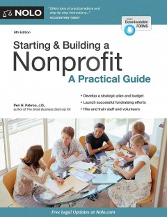 Starting-&-building-a-nonprofit-:-a-practical-guide-/-Peri-H.-Pakroo,-J.D.